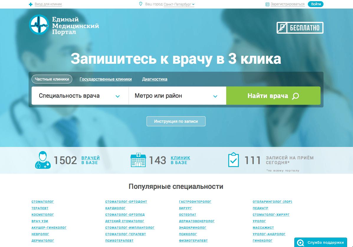 Раскрутка медицинских сайтов в Украине