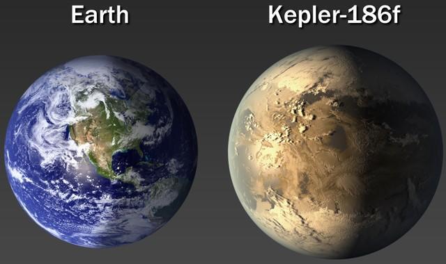NASA обнаружила потенциально обитаемую планету Kepler-186f-2