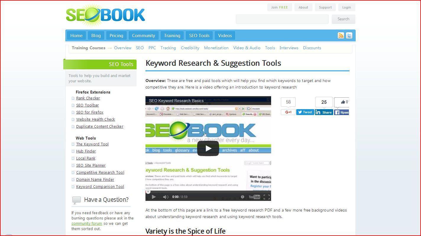 seobook - Как ключевые слова для поиска помогут вести бизнес в Интернете?