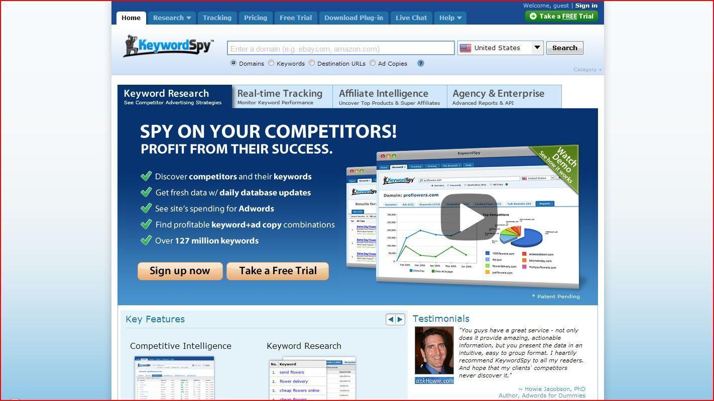 spy - Как ключевые слова для поиска помогут вести бизнес в Интернете?