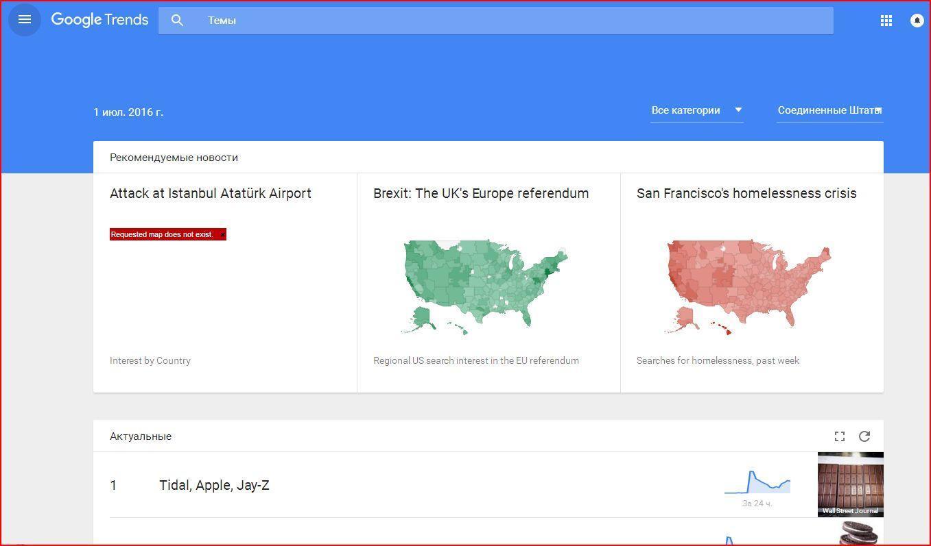 trends - Как ключевые слова для поиска помогут вести бизнес в Интернете?