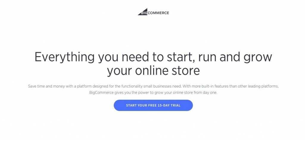 Конструктор сайтов BigCommerce