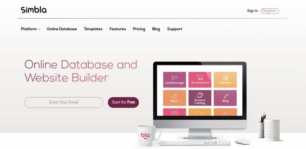 Конструктор сайтов Simbla